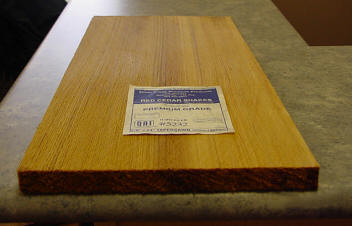 Tapersawn Board