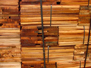 Tapersawn Stacks